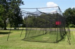 Pro Series 70'x14x12 Batting cage #45 net and frame