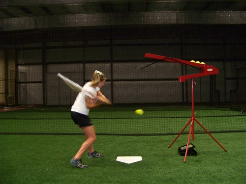 Non Electric Tru Toss Soft Toss Machine For Baseball And