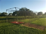Batting Cage Package 60x12x10 #24 net and frame