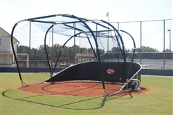 Portable Turtle Batting Cage Backstop
