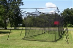 Pro Series 55'x14x12 Batting cage #45 net and frame