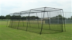 Standard Batting Cage Package 60x12x10 #36 net and frame